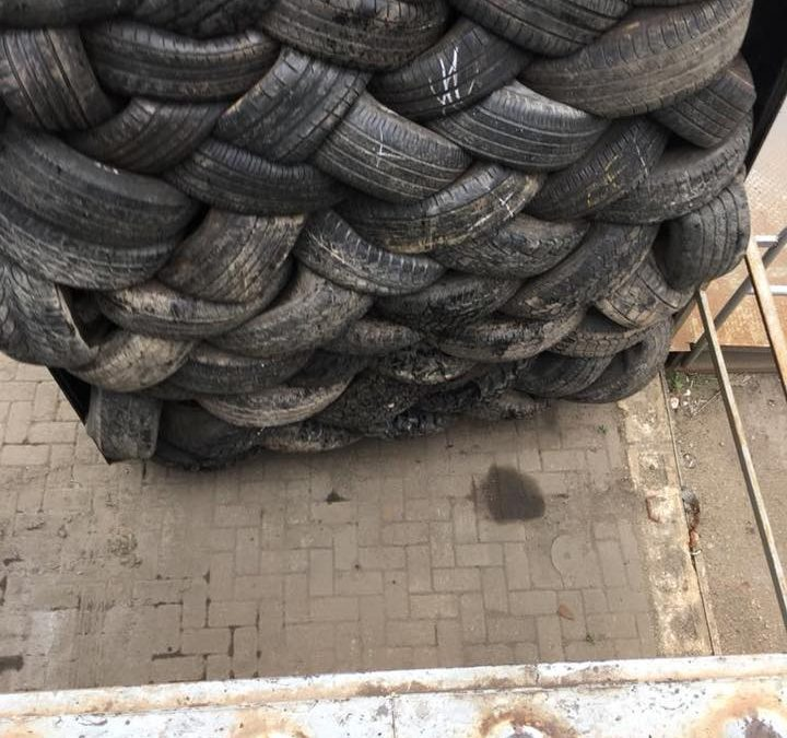 What do you pack when going on holiday? We just packed 2900 tyres…